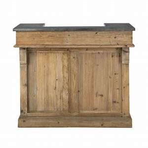 Meuble Bois Recyclé : meuble de bar en bois recycl l 120 cm pagnol maisons du monde ~ Teatrodelosmanantiales.com Idées de Décoration