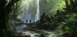 Matte painting and concept art by Jonas De Ro
