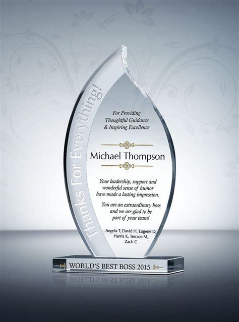 flame leadership plaque words  appreciation gifts