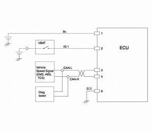 Hyundai Sonata  Tpms Receiver Schematic Diagrams