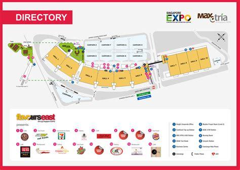 singapore expo floor plan