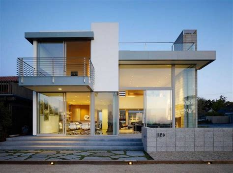 Contemporary Mediterranean House Plans Two Story Concrete