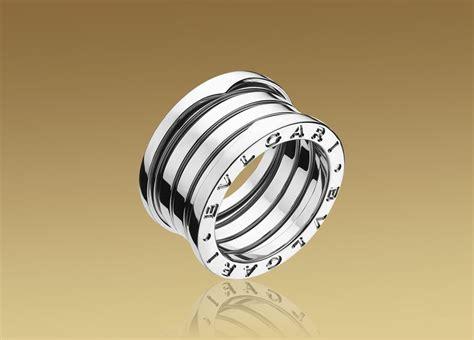 bvlgari bvlgari bzero1 3 band ring in 18k white gold size 53 bulgari b zero1 collection
