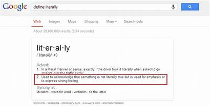 Literally Definition Google English Literal Funny Languish