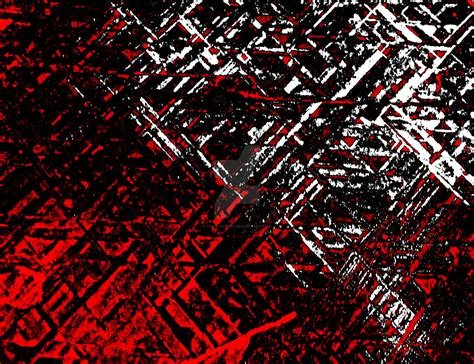 Techno Stone, Red N Black (texture, Background) By
