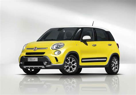 Fiat 500 Mpg by 2014 Fiat 500l Trekking Review Pictures Price Mpg