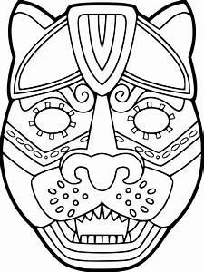 Dessin Jaguar Facile : coloriage masque jaguar imprimer ~ Maxctalentgroup.com Avis de Voitures