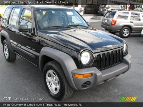 black jeep liberty interior black clearcoat 2003 jeep liberty sport taupe interior