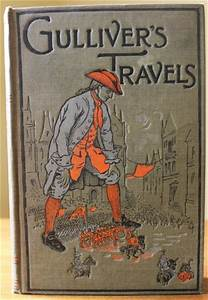 Antique 1915 Gulliver's Travels by Jonathan Swift ...