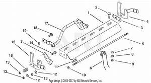 Gravely 915100  000102 -   1734 Zt Parts Diagram For Dethatcher Kit