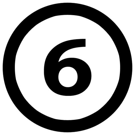 File6numbersixincirclepng  Wikimedia Commons