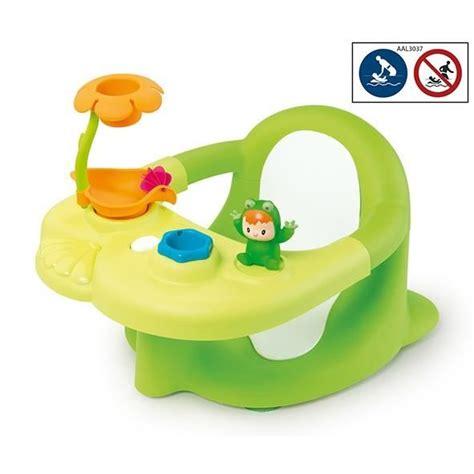 siege bebe bain cotoons siège de bain vert avec ventouses vert achat