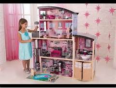 Build The Custom Dream House For Your Life Mansion Dollhouse For Children Pink Dolls House Video YouTube