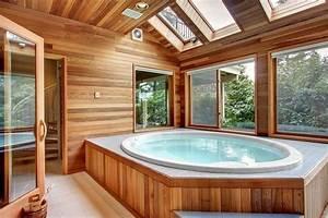 Jacuzzi En Bois : jacuzzi bois pas cher maison design ~ Nature-et-papiers.com Idées de Décoration