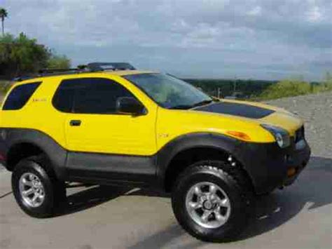 2001 Isuzu Vehicross by Isuzu Vehicross 2001 Proton Yellow Well Maintained