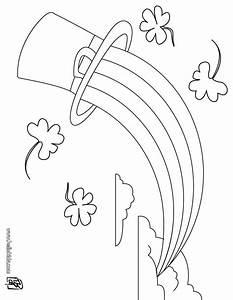 Regenbogen Zum Ausmalen : koboldhut und regenbogen zum ausmalen zum ausmalen ~ Buech-reservation.com Haus und Dekorationen