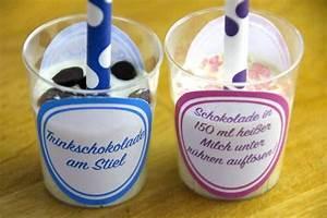 Etiketten Selber Machen : trinkschokolade am stiel selber machen anleitung und ~ Michelbontemps.com Haus und Dekorationen