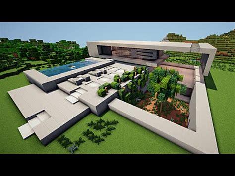 minecraft maison moderne minimaliste