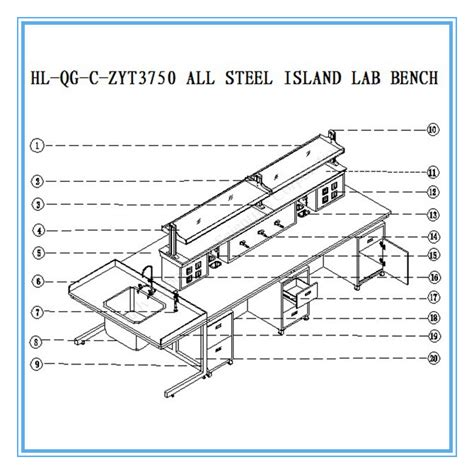 steel plate  epoxy powder coated laboratory furniture