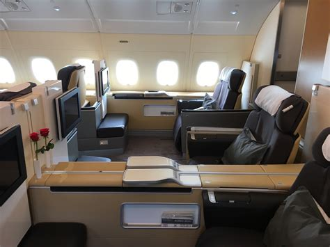 When Lufthansa First Class is Home... - Travelling the World