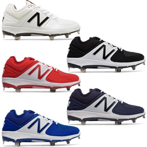 balance  mens baseball cleat lv