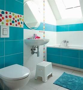 1001 designs uniques pour une salle de bain turquoise With carrelage adhesif salle de bain avec led visage a domicile