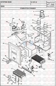 Baxi System 35  60  Combustion Chamber Diagram