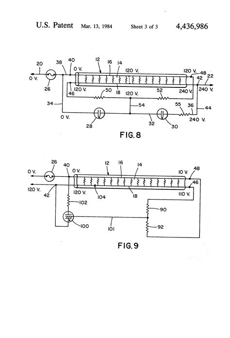 Wiring For Electric Blanket by Patent Us4436986 Electric Blanket Safety Circuit
