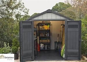 Dacheindeckung Kunststoff Gartenhaus : tepro kunststoff ger tehaus gartenhaus oakland 7511 braun grau ~ Whattoseeinmadrid.com Haus und Dekorationen