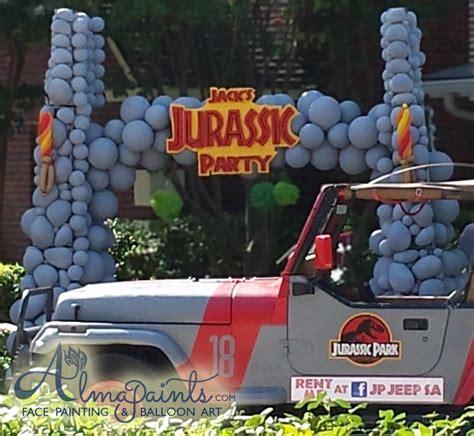 Jurassic Park Decorations - the best balloon decor in san antonio bring magic to that