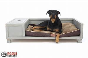 Diy large dog bed plans rogue engineer for Dog bed for 2 large dogs