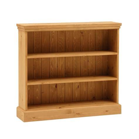 Dorchester Pine Extra Wide 3ft Bookcase 3 Shelves (m257