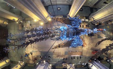 artist xu bings phoenix takes flight   cathedral