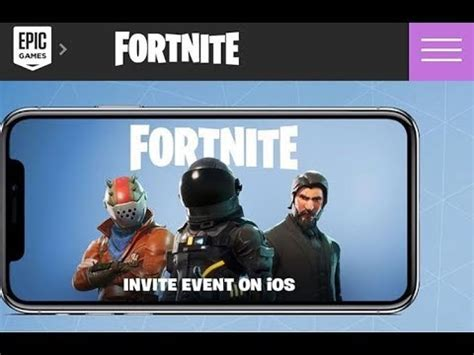 fortnite battle royale mobile  working ios wont