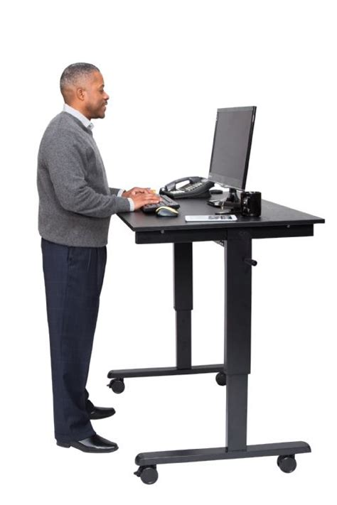 crank adjustable stand  desk  shipping