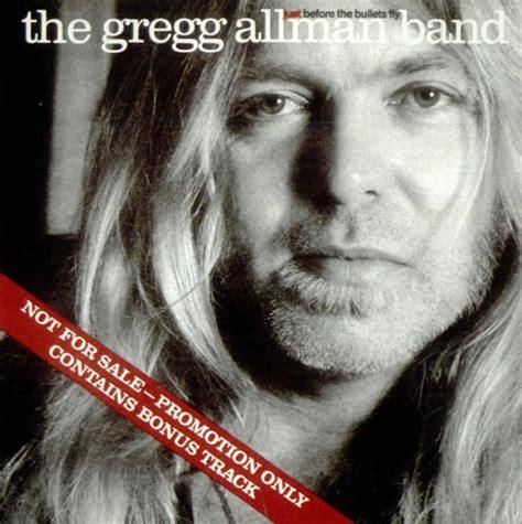 gregg allman just before the bullets fly us promo cd album