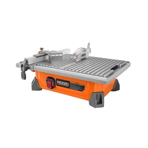 Ridgid Tile Saw Home Depot Canada by Ridgid 7 In Site Tile Saw 99 88 At Homedepot