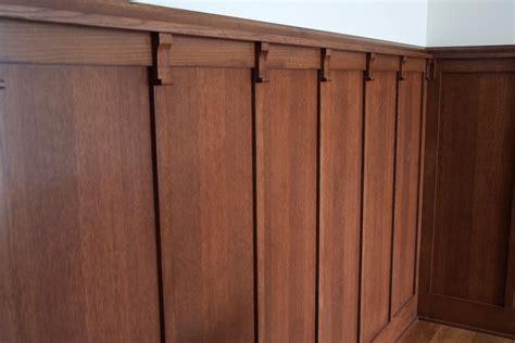Oak Wainscoting by Quartersawn White Oak Wainscotting Cut Above Wood Designs