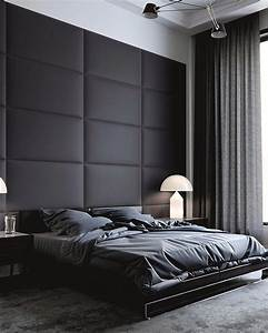 15, Elegant, And, Comfortable, Black, Bedroom, Designs, And