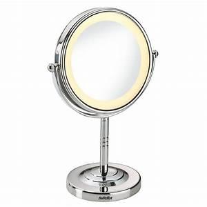 Miroir Rond Lumineux : miroirs miroir lumineux rond 8435e babyliss paris ~ Zukunftsfamilie.com Idées de Décoration