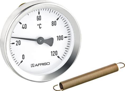 thermometre d applique bi 63a montage a ressort de 3 8 quot 11 2 quot bg