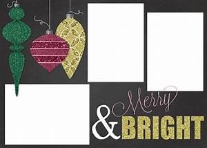 Free Customizable Christmas Card Template