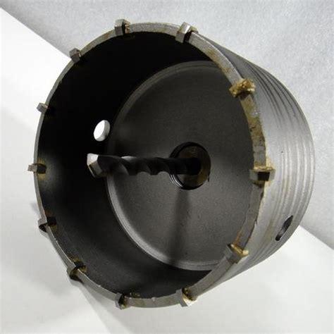 bohrkrone 100 mm hm lochs 228 ge bohrkrone dosenbohrer 216 100 mm mit sds aufnahme f 252 r beton mauerwerk ebay