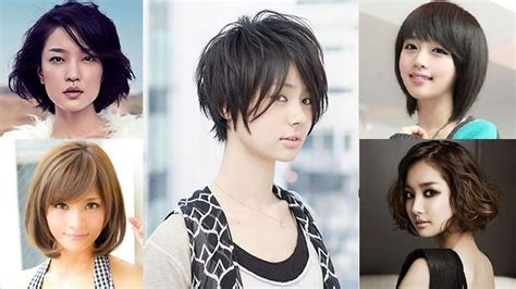 glorious short hairstyles  asian women  summer