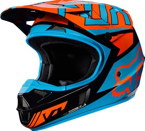 fox motocross gear 119 95 fox racing youth v1 falcon mx motocross helmet 995536