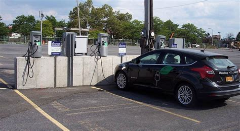 Electric Car Charging Stations by Nyc Approves Pilot Program That Will See Electric Charging