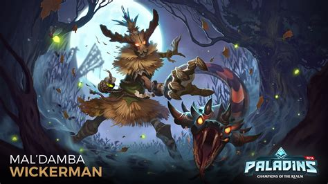 paladins maldamba wickerman hd wallpaper background