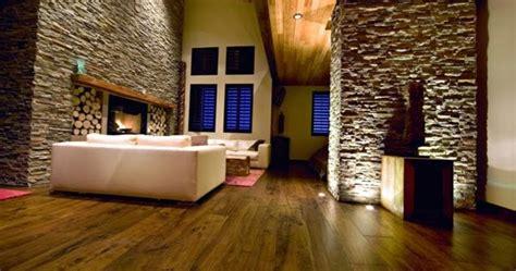 living room design ideas natural stone wall   interior
