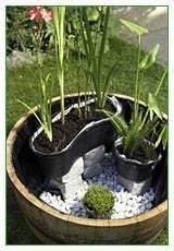 Zinkwanne Miniteich Springbrunnen : pflanzk rbe in position bringen terasse pinterest gardens urban gardening and garden ideas ~ Whattoseeinmadrid.com Haus und Dekorationen