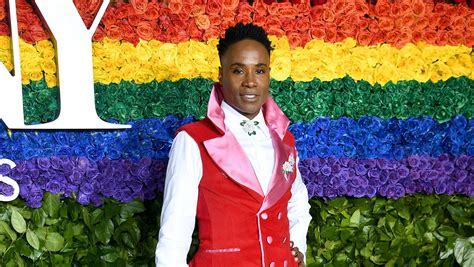 Billy Porter Rocks Uterus Patterned Gown The Tony